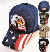 Eagle with Flag Hat [Printed Flag Bill]